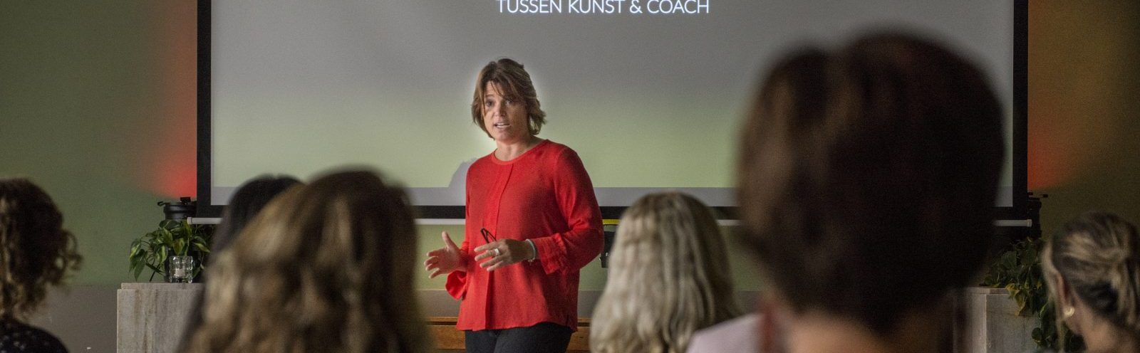 Mascha van Wijnen, oprichter Koaching Akademie