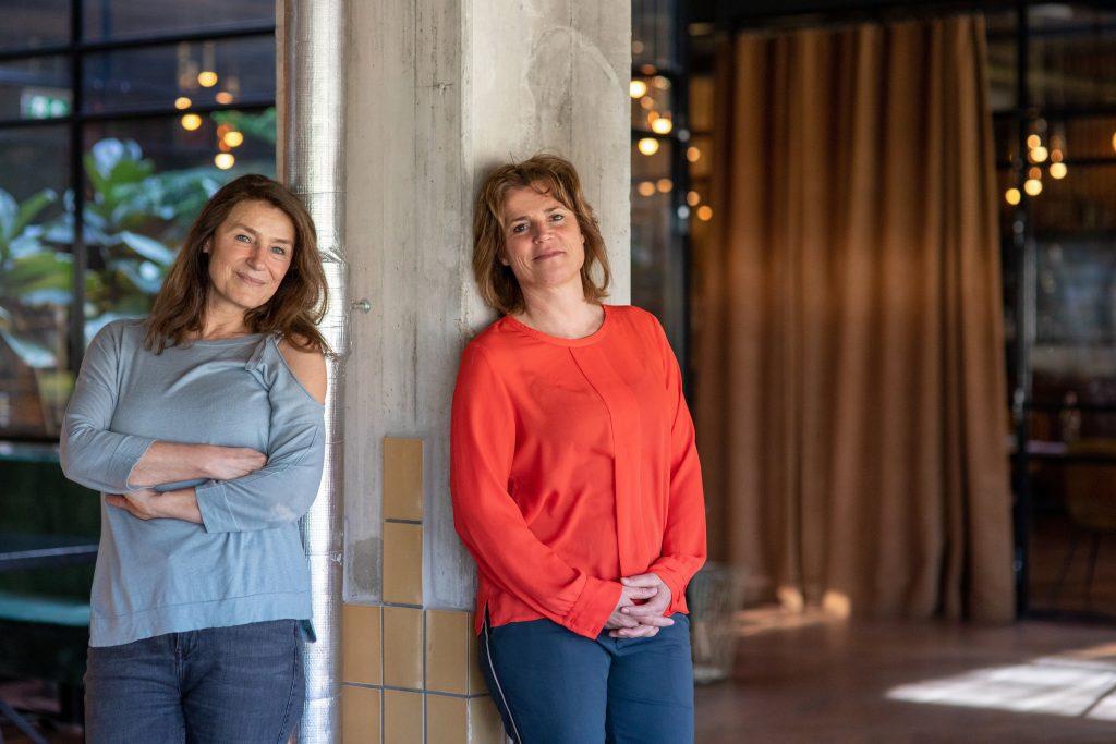 Trainers in creatief leiderschap Klara Uleman & Mascha van Wijnen